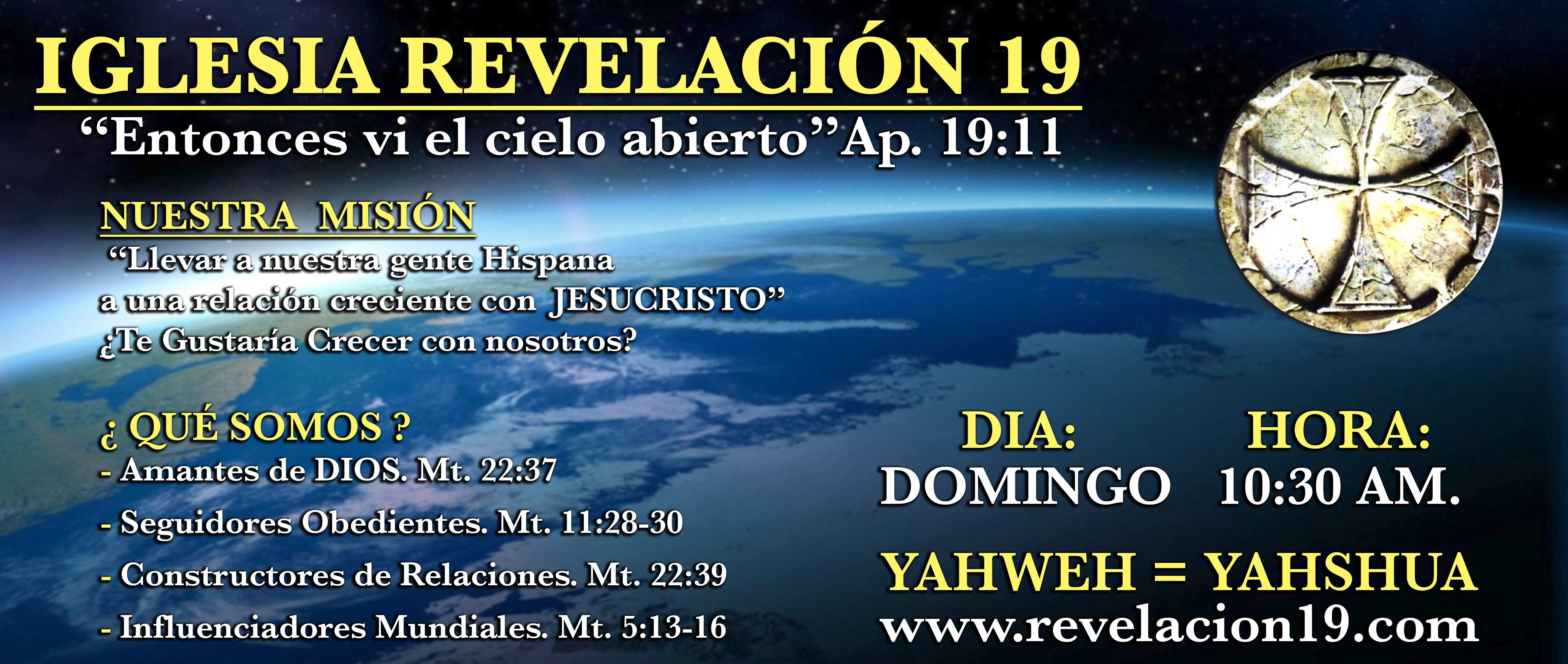 Iglesia Revelación 19